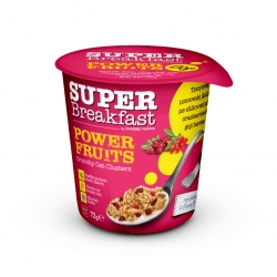 SUPER BREAKFAST CUP ΒΡΩΜΗΣ ΜΕ POWER FRUITS 72gr