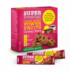 SUPER BREAKFAST ΜΠΑΡΕΣ ΒΡΩΜΗΣ ΜΕ POWER FRUITS (6x25gr)